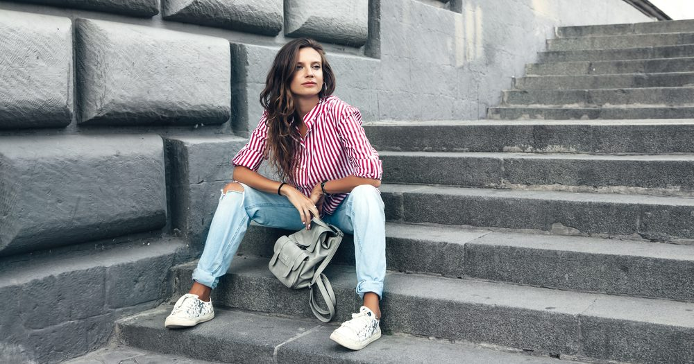 jeans boyfriend mujer