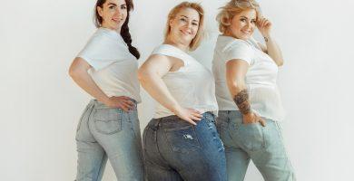 tipos de jeans para mujeres gorditas