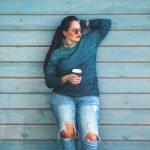 cómo ocultar el vientre abultado